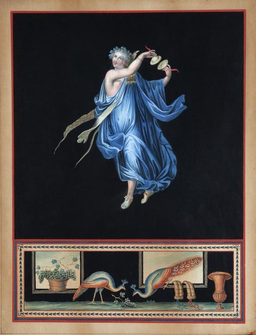 MICHELANGELO MAESTRI (Roma, 1741-1812)Ménade danzante con