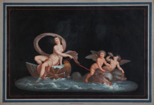 MICHELANGELO MAESTRI (Roma, 1741-1812)Anfitrite