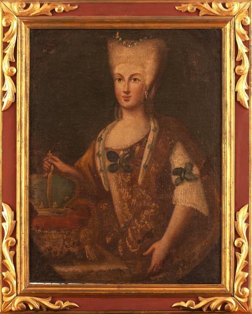 ESCUELA ESPAÑOLA, H. 1800Retrato de Maria Luisa de Parma
