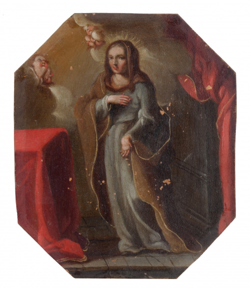 ESCUELA ESPAÑOLA O COLONIAL, SIGLO XVIII, ESCUELA ESPAÑOLA