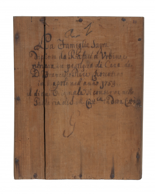 """Francesco Pieri (1699-1773).""""La Sagrada Familia"""".Reliev"""