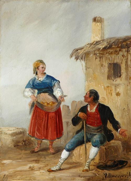 JENARO PÉREZ VILLAMIL (La Coruña, 1807- Madrid, 1858), JENA