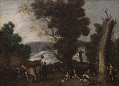 ATRIBUIDO A CORNELIS DE WAEL (Amberes, 1592-Roma, 1667)Pa