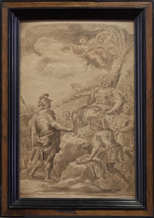 ESCUELA ITALIANA, H. 1700Deborah y Barac