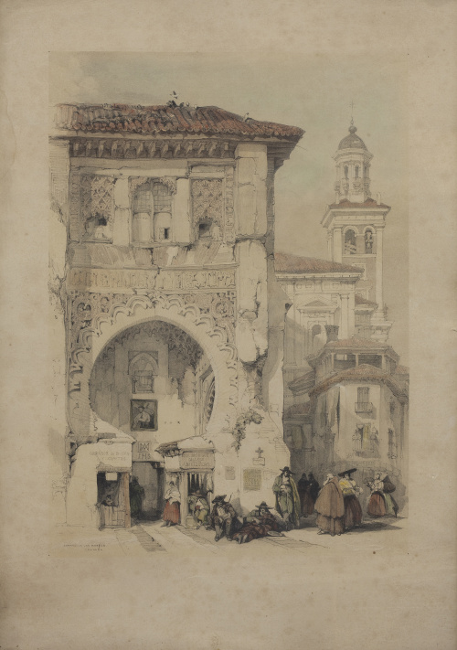 DAVID ROBERTS (Edimburgo, 1796 - Londres, 1864)Correo de