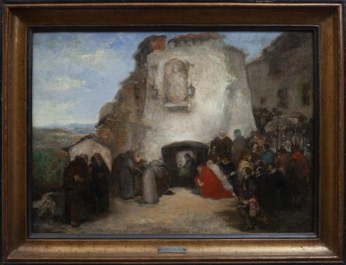 ANTONIO PÉREZ RUBIO (Madrid, 1822 - Madrid, 1888), ANTONIO