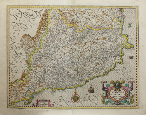 GERHARD MECATOR (1512-1594) y JODOCUS HONDIUS (1563 -  1612
