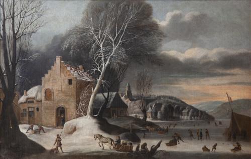 ABRAHAM BEERSTRATEN (1643-1665) o ANTHONIE BEERSTRATEN (163