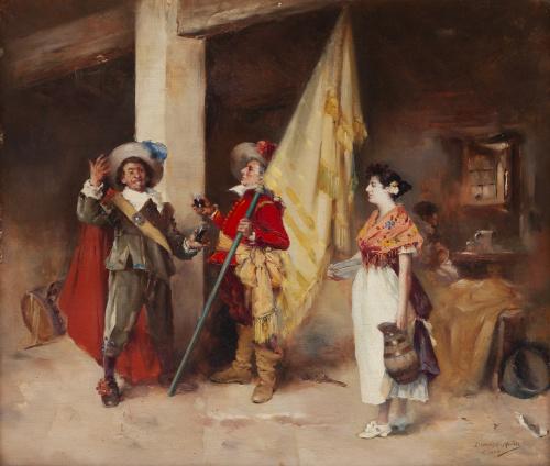 DOMINGO MUÑOZ CUESTA (Madrid, 1850-1935), DOMINGO MUÑOZ CUE