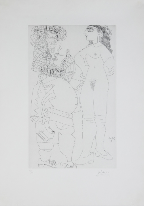 PABLO PICASSO (Málaga, 1881 - Mougins, 1973), PABLO PICASSO