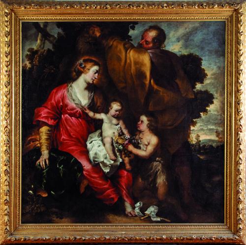 ATRIBUIDO A ERASMUS QUELLINUS (1634 -1715)El descanso en