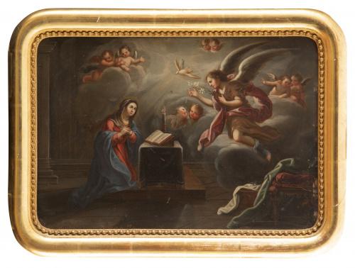 FRANCISCO MARTÍNEZ (activo 1717-1758)Asunción de la Virge