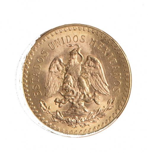 Moneda de 50 pesos mexicanos 1946