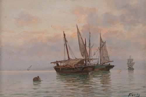 ENRIQUE FLORIDO (Málaga, 1873-1929), ENRIQUE FLORIDO (Málag