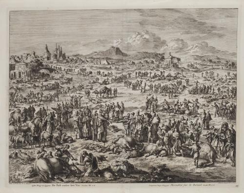 JEAN COVENS, C. MORTIER y JAN LUYKEN (1649-1712)La 5ª, 6ª