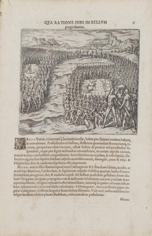 THÉODOR DE BRY (1528-1598) y JACQUES LE MOYNE DE MORGUES (1