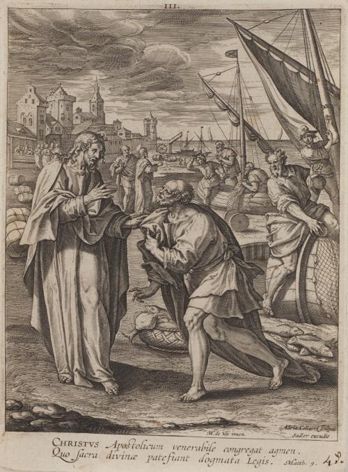 MARTÍN DE VOS (1532-1603) Y JOHANNES SADELER (1550-1600)Vo