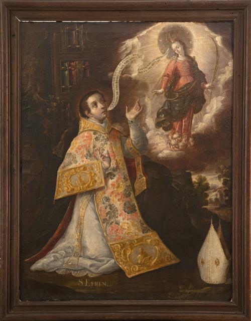 JUAN RODRÍGUEZ JUÁREZ (Ciudad de México, 1675-1728)San E