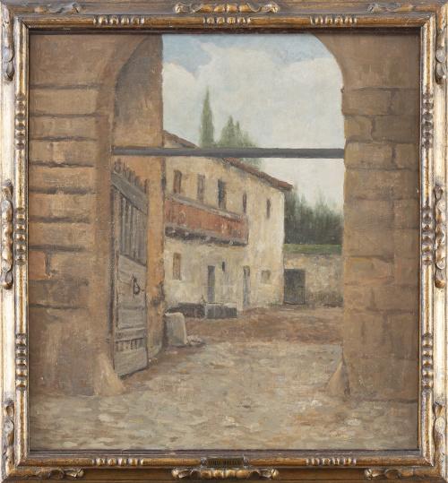 ATRIBUIDO A TOMÁS MORAGAS Y TORRAS (Gerona, 1837-Barcelona,