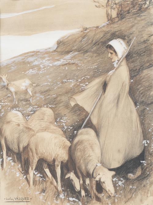 CARLOS VÁZQUEZ ÚBEDA (1869-1944), CARLOS VÁZQUEZ ÚBEDA (186