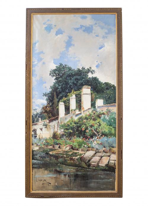 ANTONIO GOMAR Y GOMAR (Benigánim, Valencia, 1853 - Maella,