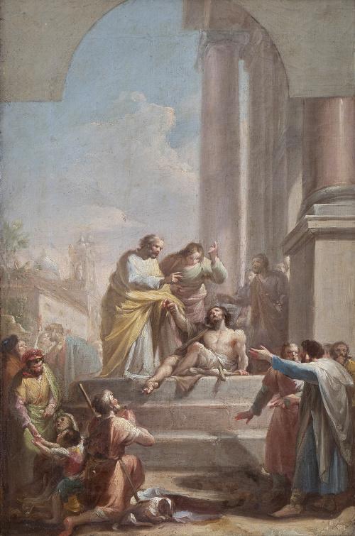 FRANCISCO BAYEU (Zaragoza, 1734 - Madrid, 1795)San Pedro