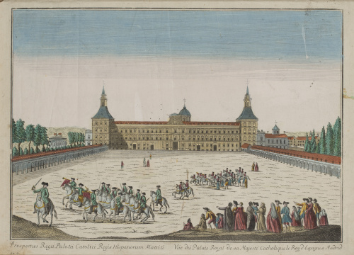 ESCUELA FRANCESA, SIGLO XVIIIVista óptica: Vue du Palais R