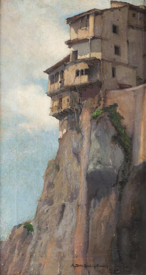 VIRGILIO VERA  (Cuenca, 1900 - Madrid, 1942)Las casas Colg