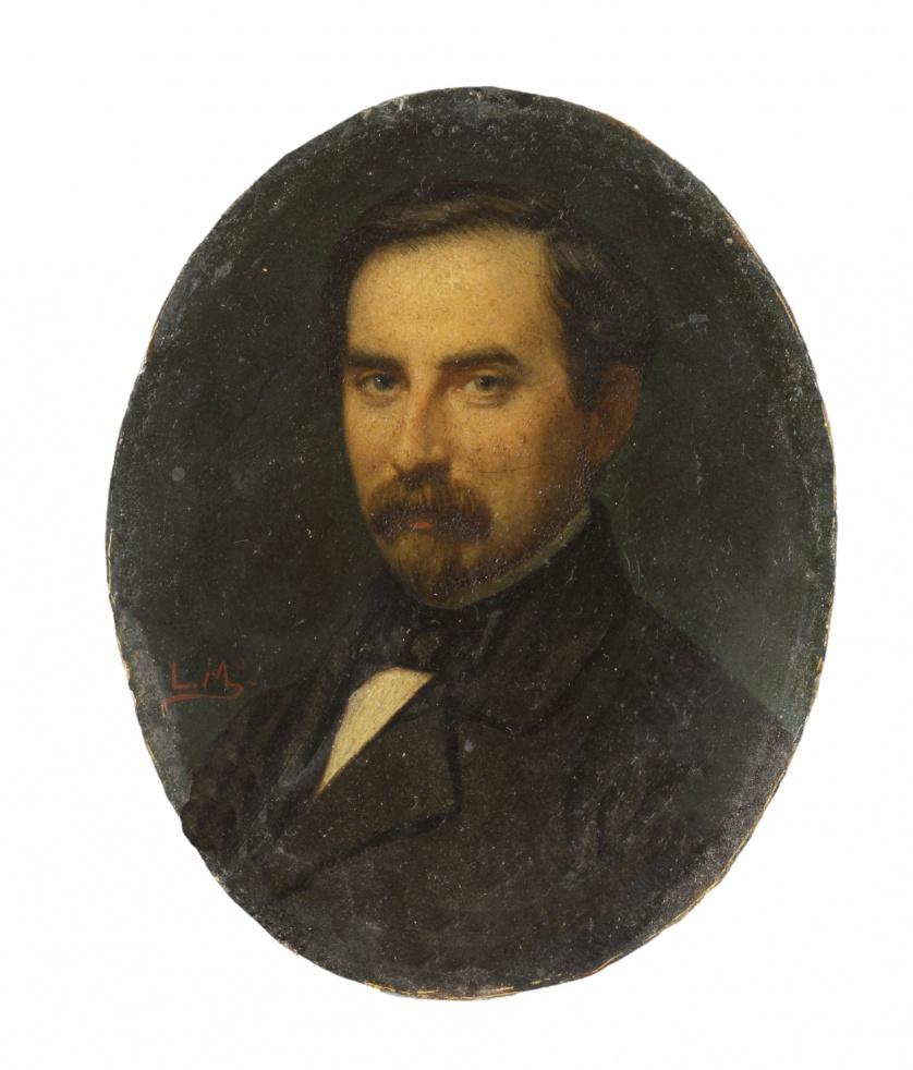 LUIS DE MADRAZO (1825-1897)Retratos del General Don José G