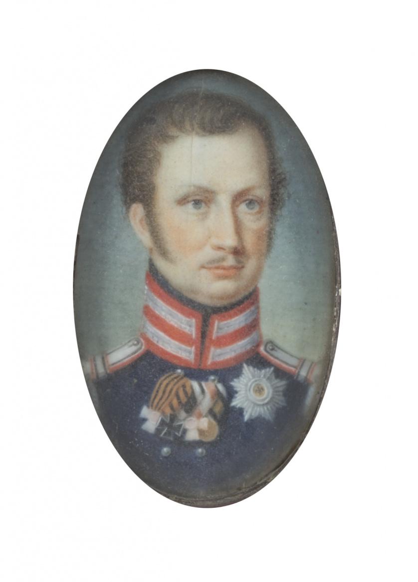 ESCUELA PRUSIANA, H. 1820Retrato de Federico Guillermo III