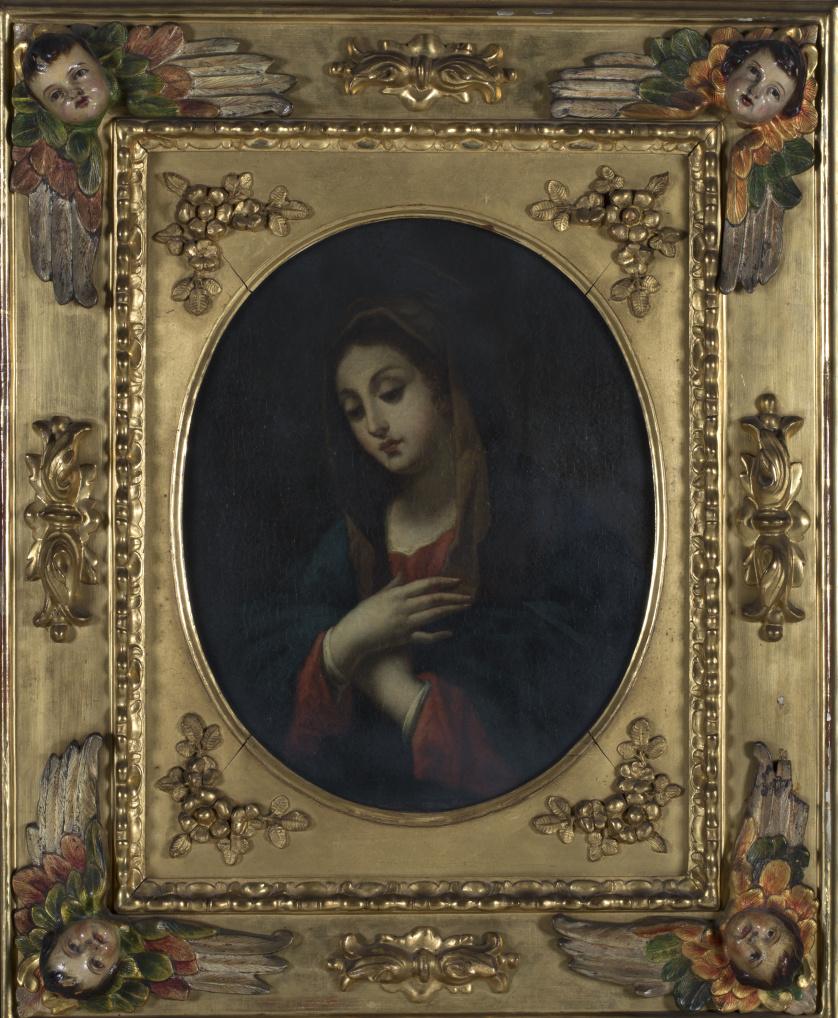 ESCUELA ITALIANA SIGLO XVIIIVirgen en oración