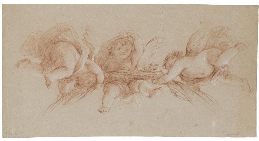 MARIANO SALVADOR MAELLA (1739- 1819)Estudio de ángeles o g
