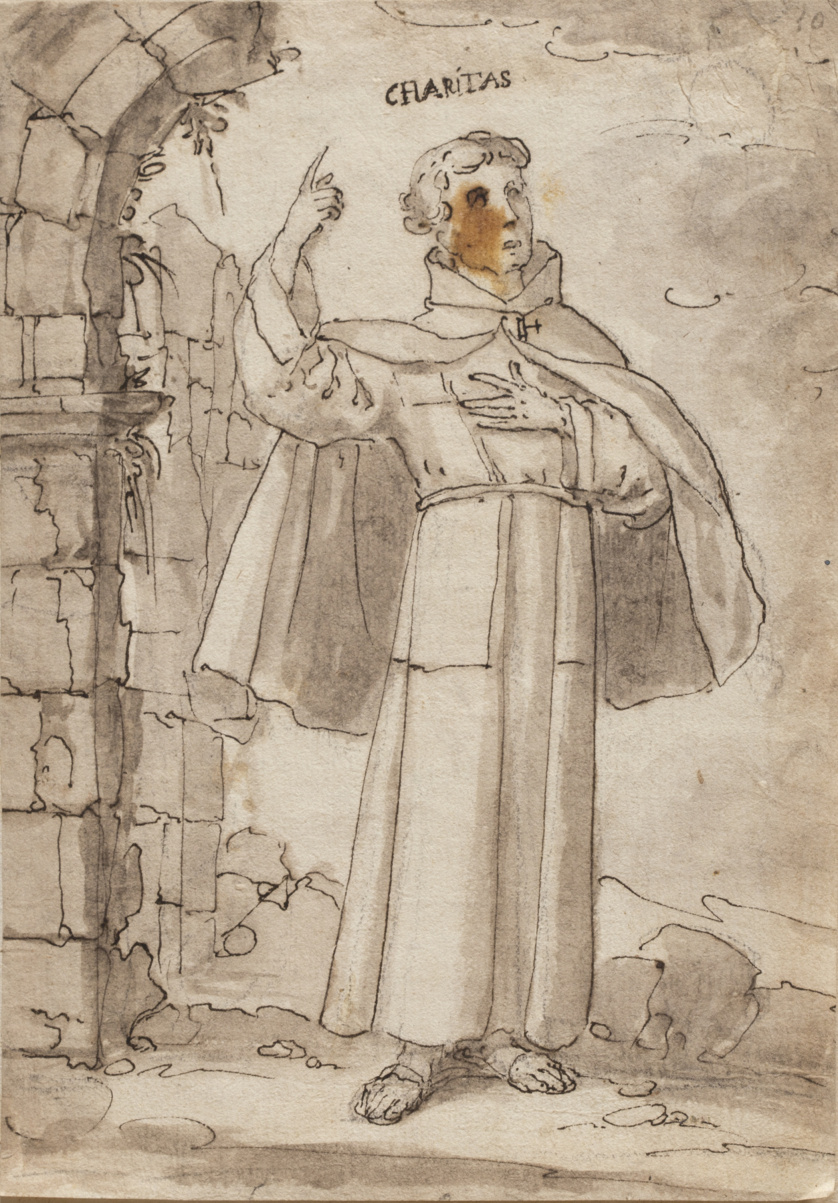 ESCUELA ESPAÑOLA, SIGLO XVIISan Francisco de Paula