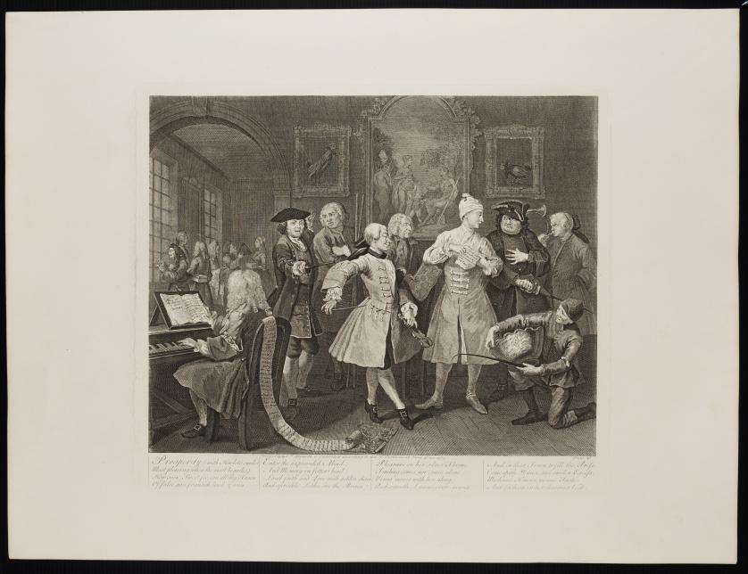 WILLIAM HOGARTH (1697-1764)Vida de un libertino
