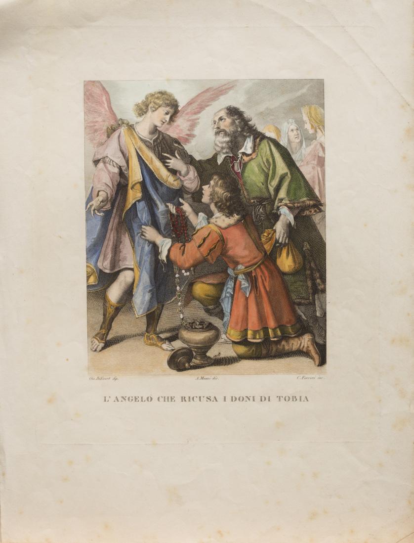 GIOVANNI BILIVERT (inv) CESARE FERRERI (inc)El arcángel sa