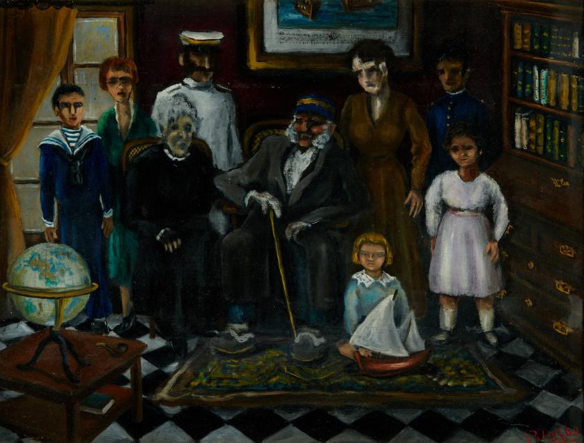 MANUEL BLASCO (Málaga, 1899 - Torremolinos, 1992), MANUEL B