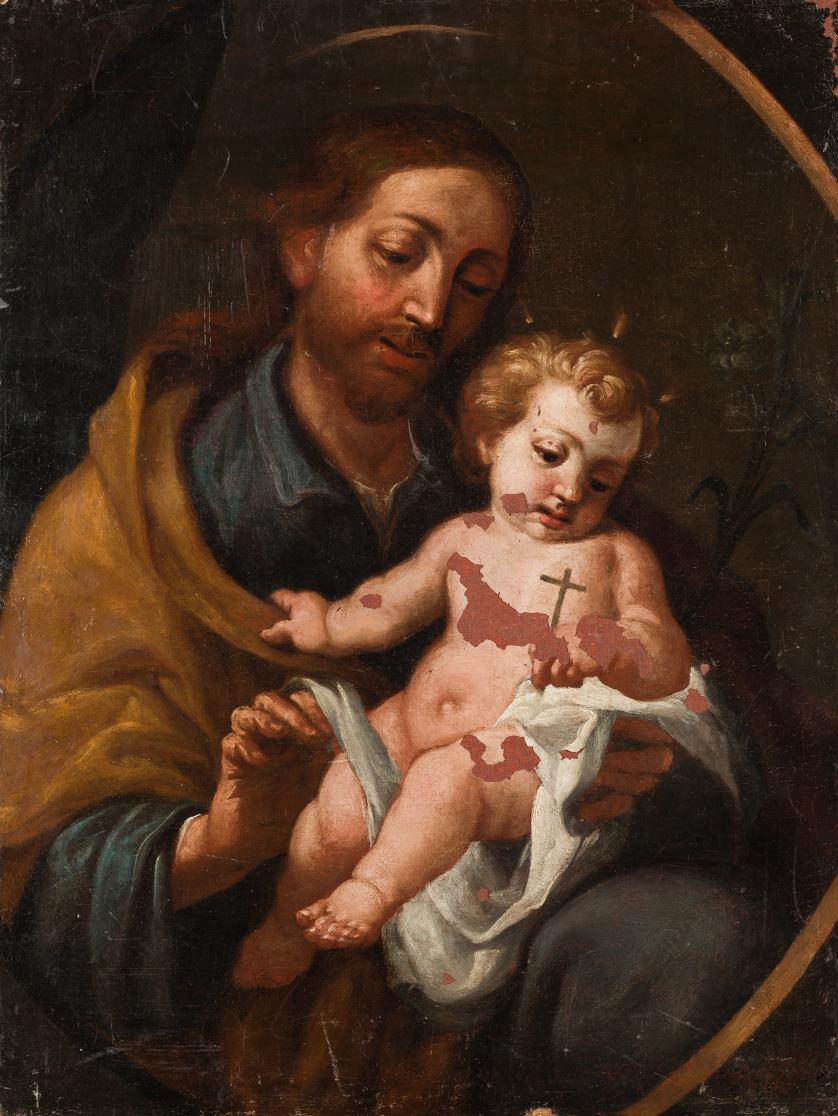 ESCUELA MADRILEÑA, SIGLO XVII, ESCUELA MADRILEÑA, SIGLO XVI