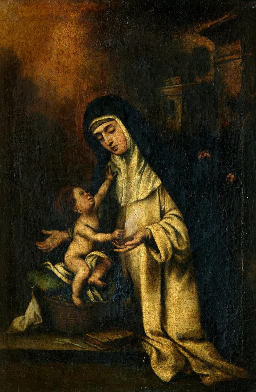 COPIA DE MURILLO (Escuela española, ffs. S. XVII), COPIA DE