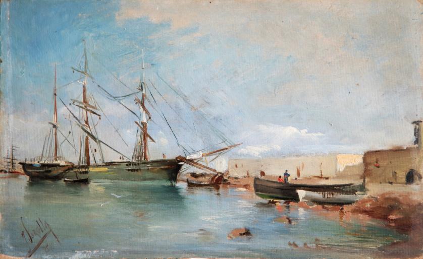 JOAQUÍN SOROLLA Y BASTIDA (Valencia, 1863 - Madrid, 1923) ,