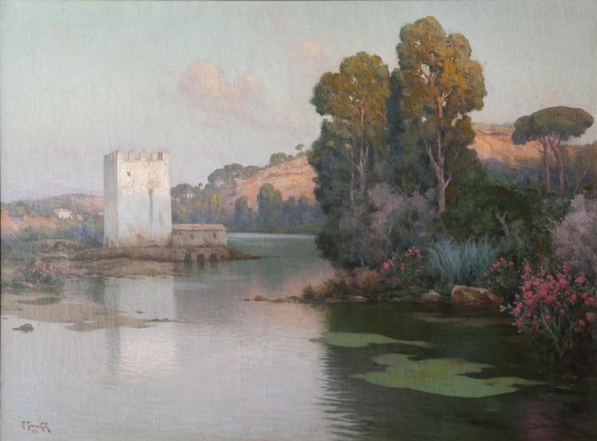 GUILLERMO GÓMEZ GIL (Málaga, 1862-Cádiz, 1942), GUILLERMO G