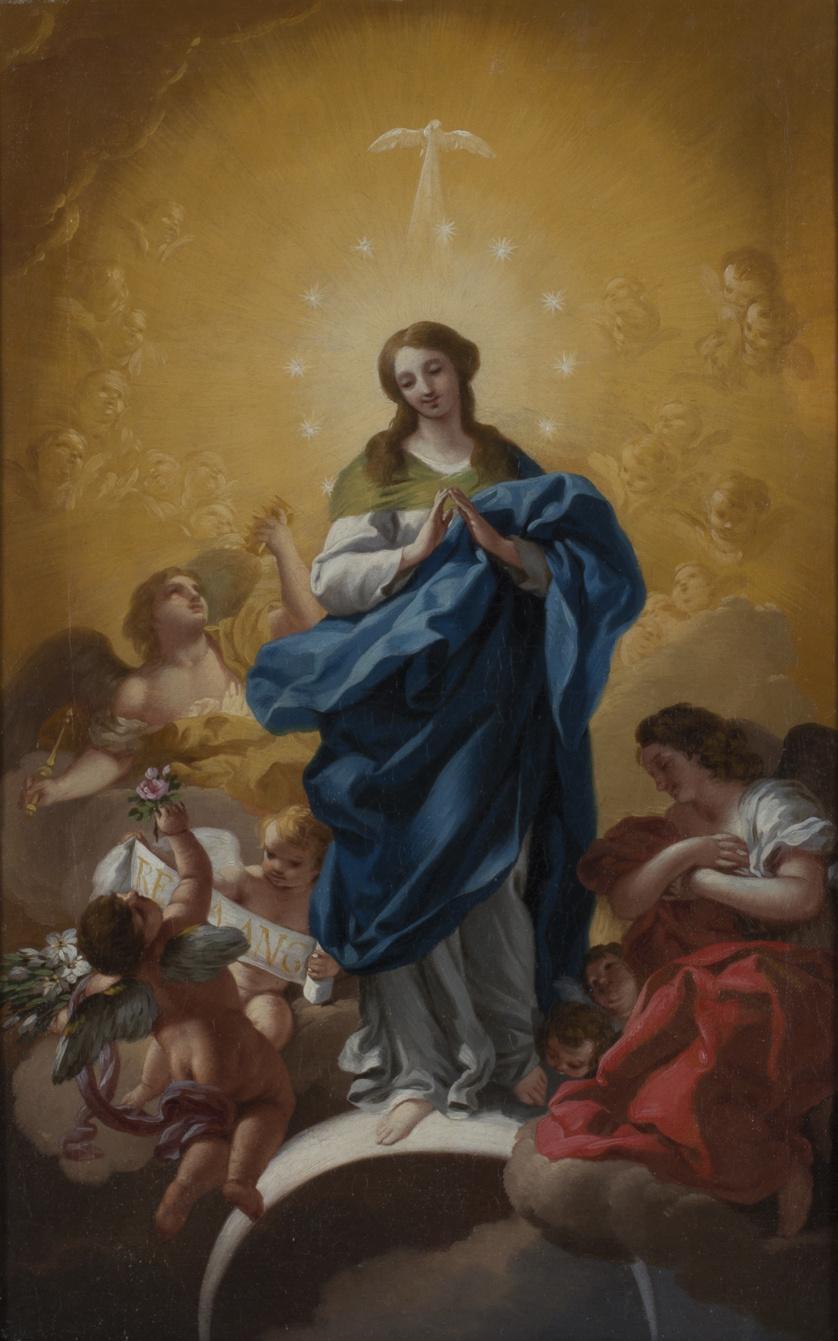 JOSÉ DEL CASTILLO (1737-1793)Inmaculada Concepción