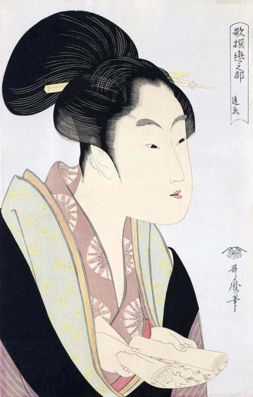 KITAGAWA UTAMARO (1750-1806)Amor de encuentro de cada noche