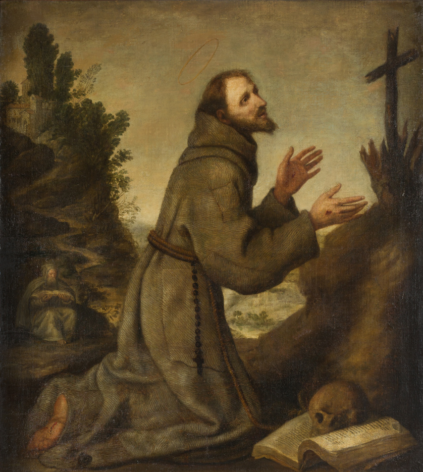 ESCUELA ESPAÑOLA SIGLO XVIISan Francisco