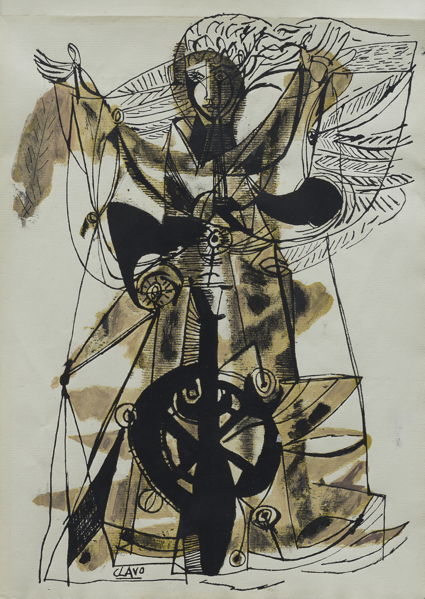 JAVIER CLAVO (Madrid, 1918 - 1994), JAVIER CLAVO (Madrid, 1