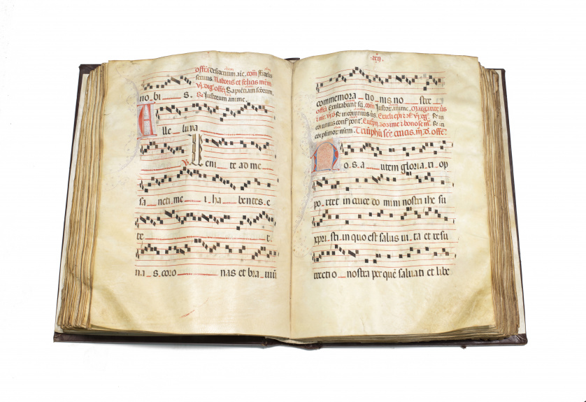 Cantoral - Antiphonale Missarum. Probablemente Sevilla, pri