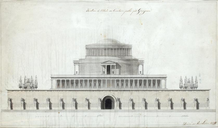 PIERE LUCHINI (Escuela francesa, h. 1824)El alzado de Elis