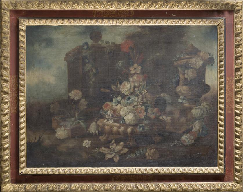 CÍRCULO DE NICOLA CASISSA (Escuela italiana siglo XVIII)Fl
