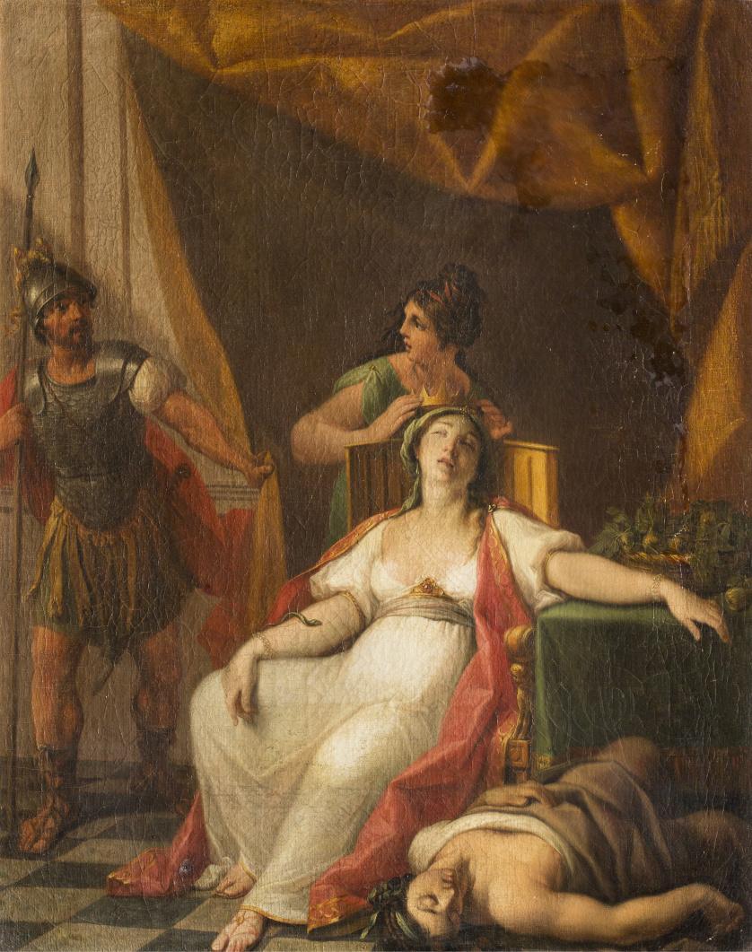 ZACARÍAS GONZÁLEZ VELÁZQUEZ (1763-1834)Cleopatra muerta