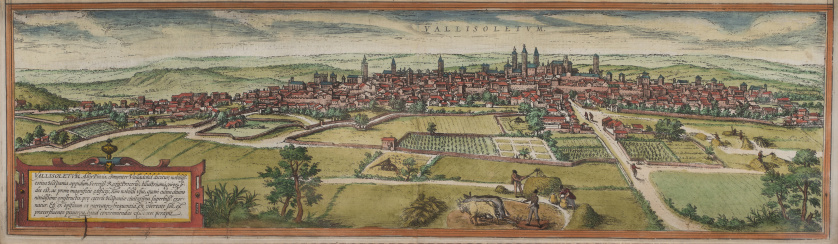 FRANS HOGENBERG (1535-1590)Vista de Valladolid