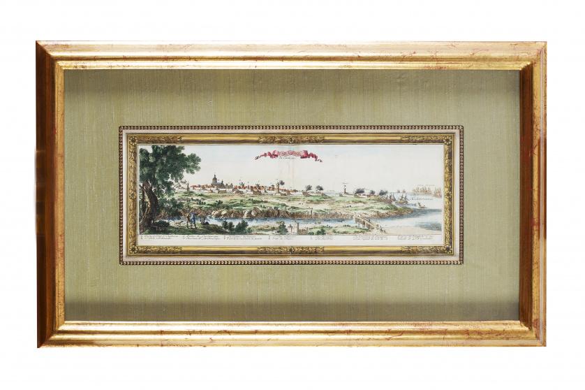 SÉBASTIAN PONTAULT DE BEAULIEU (1612-1674)Vista de Tarrago